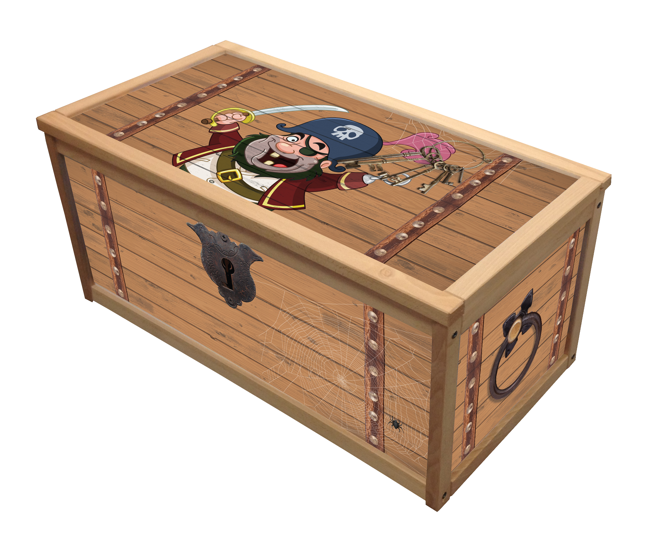 Wooden Toy Chests